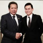 Vincent Teo and The Minister of Foreign Affairs of Malaysia